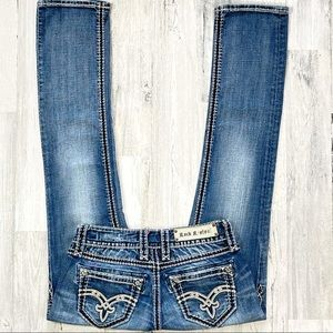 Rock Revival Denisa Straight Leg Jean's. Size 27